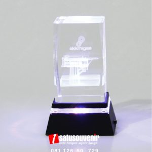 Plakat Kristal SKK Migas Elegan
