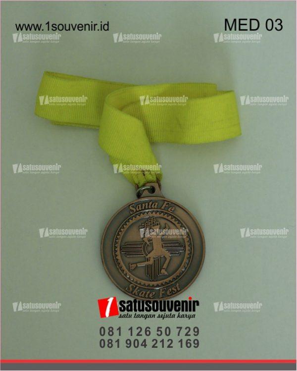 Medali Santa Fe Skate Fest