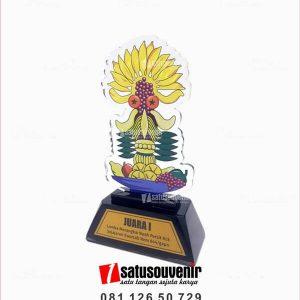 PA137 Plakat Akrilik Juara Lomba Merangkai Buah