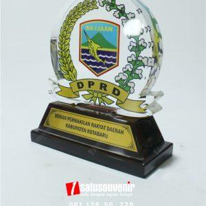 Plakat Akrilik DPRD Kotabaru