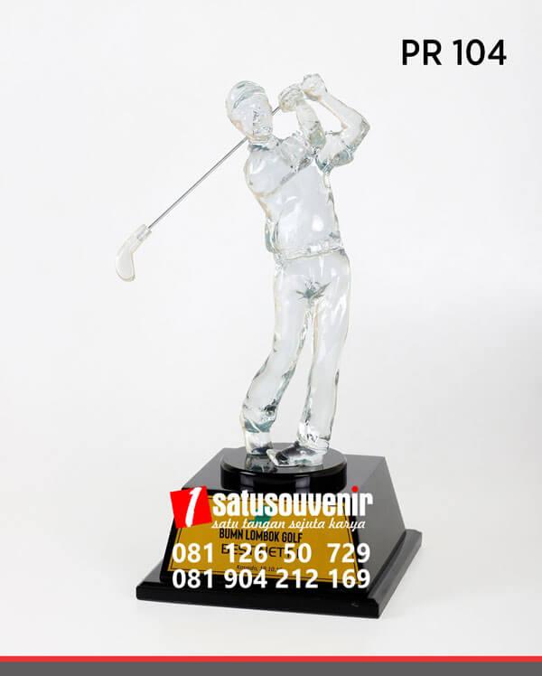 PR104 Plakat Resin Golf BUMN Lombok Golf