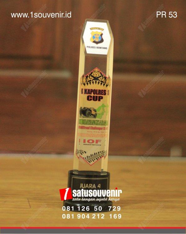 Plakat Resin Kapolres Cup