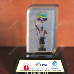 Plakat Resin Pemerintah Kabupaten Kotabaru