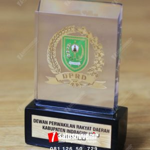 Plakat Resin DPRD Kabupaten Indragiri Hulu