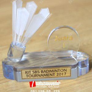 Plakat Resin Turnamen Badminton