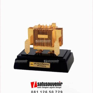 SM124 Souvenir Miniatur Travo PT PLN UP3 Ketapang