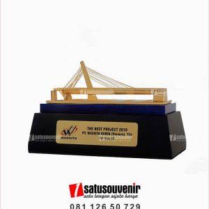 SM127 Souvenir Miniatur Jembatan Waskita The Best Project 2018
