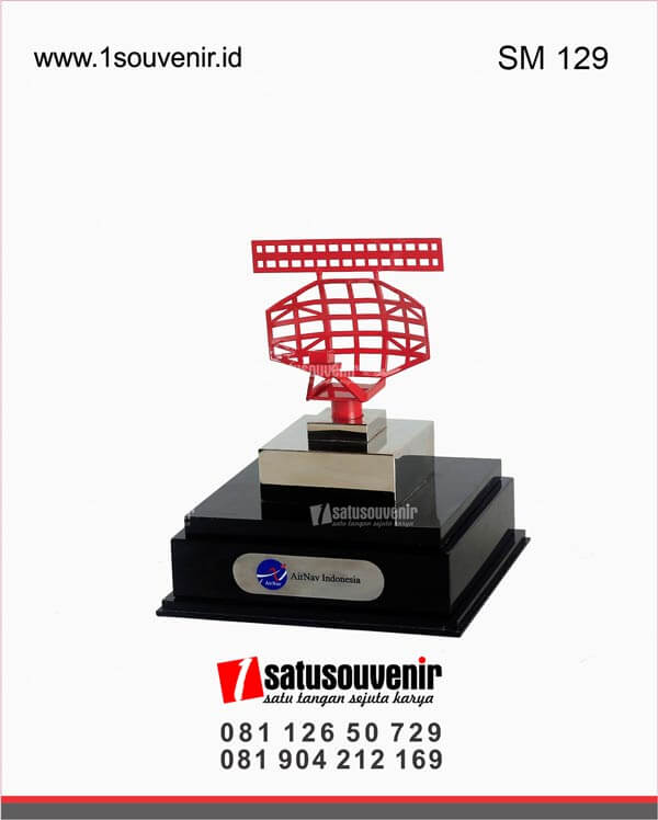 SM129 Souvenir Miniatur Radar Airnav Indonesia