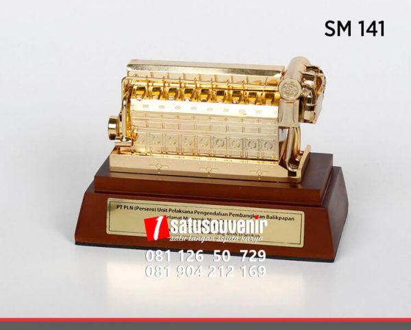 SM141 Souvenir Miniatur PLTD PT PLN Balikpapan
