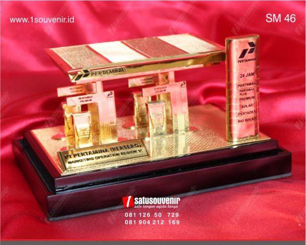 Souvenir Miniatur SPBU