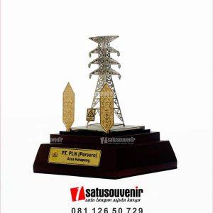 SM92 Souvenir Miniatur Sutet PT PLN Area Ketapang