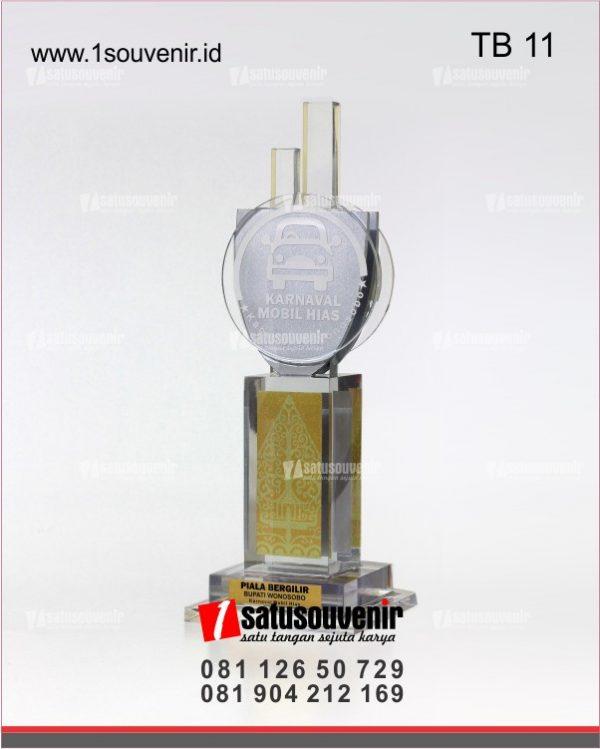 Trophy Bergilir Bupati Wonosobo